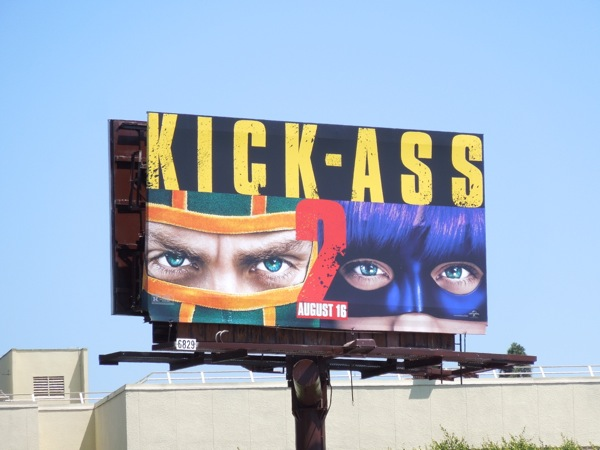 Kick Ass 2 film billboard