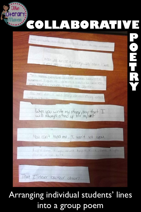 Collaborative Student Work : Collaborative poetry bring students voices together