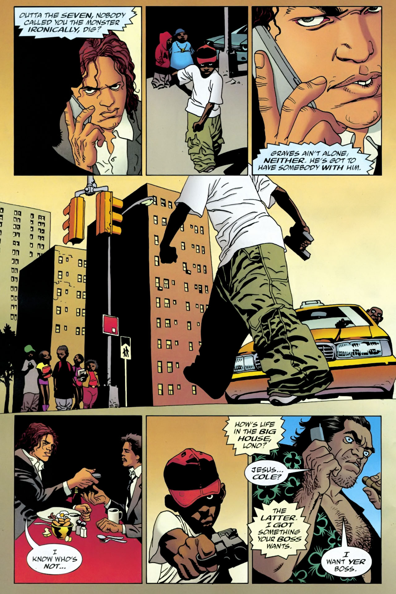 Read online 100 Bullets comic -  Issue #90 - 20