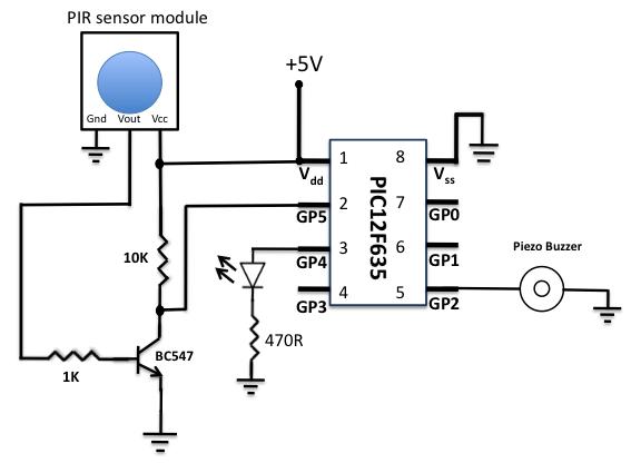 pir schematic