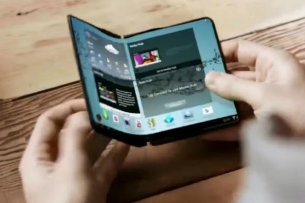 صور جديدة لبراءة اختراع خاصة بهاتف Galaxy X