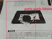 Terbukti ini penyebab hasil Fotocopy  lama lama ada garis hitam