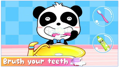 Healthy Little Baby Panda app for kids