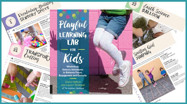 Playful learning Lab activities for kids to learn through whole body movements