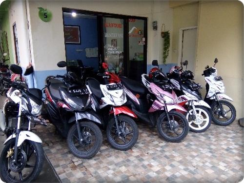 Rental Motor Kota Batu