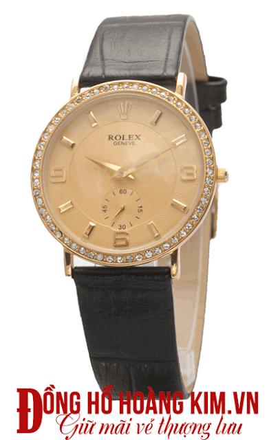 Đồng hồ nam rolex dây da giá rẻ-06