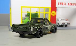 Hot Wheels $uper treasure hunt Datsun 620