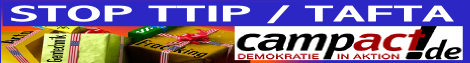 Appell: Freihandelsabkommen verhindern!