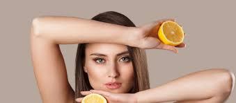 تفتيح الإبط بعصير الليمون