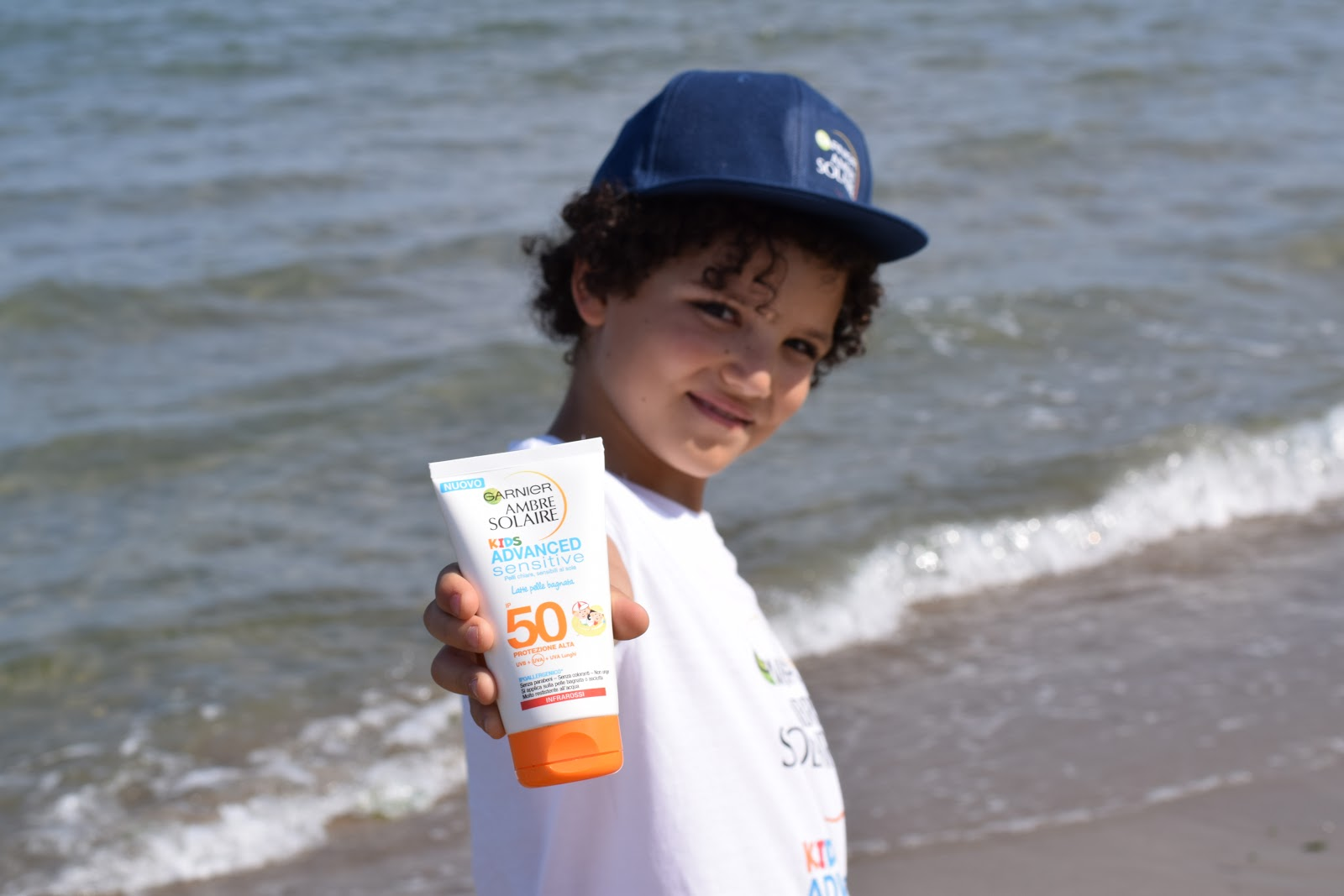 AMBRE SOLAIRE ADVANCED SENSITIVE KIDS Garnier