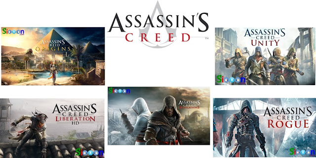 Download Gratis Assassins Creed Semua Seri hanya disini Terlengkap