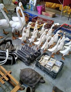 Patos de Lilianes en desembalaje Irun