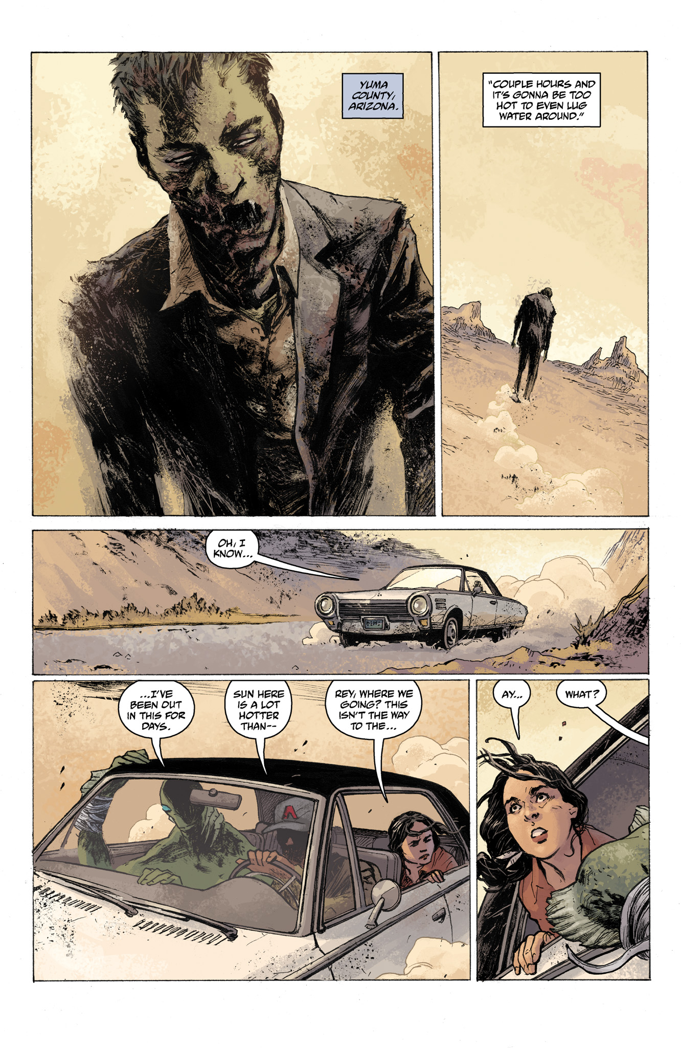 Read online Abe Sapien comic -  Issue #7 - 3