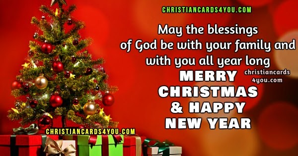 Merry Christmas And Happy New Year Religious, Christian Merry ...