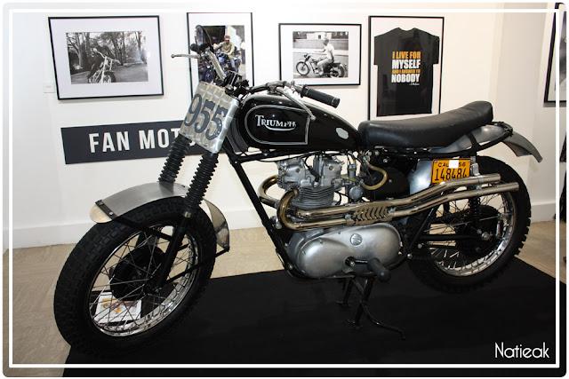 Triumph Bonneville série McQueen