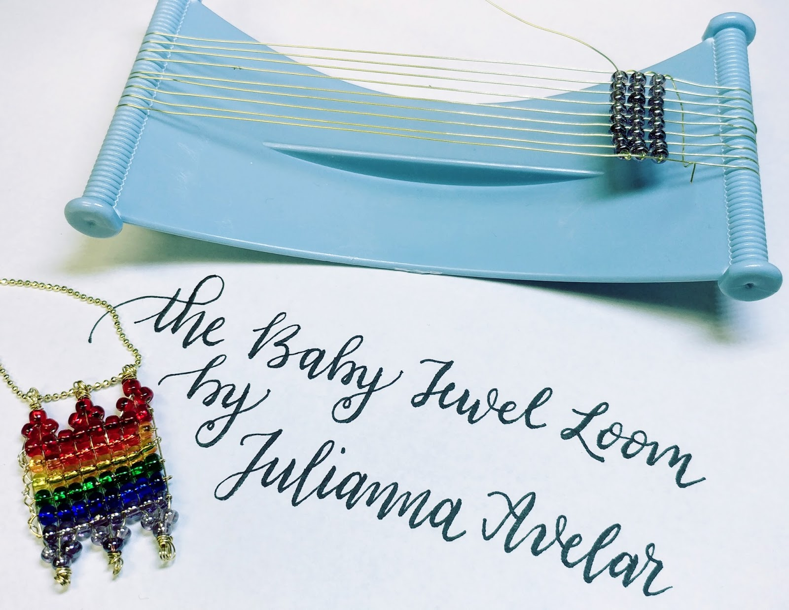 The Baby Jewel Loom By Julianna Avelar