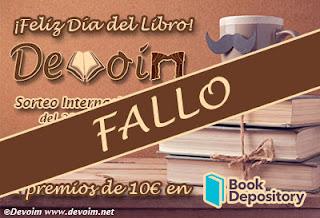 Banner del Fallo del Sorteo Día del Libro 2018