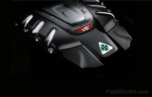 Alfa Romeo Giulia QV Engine