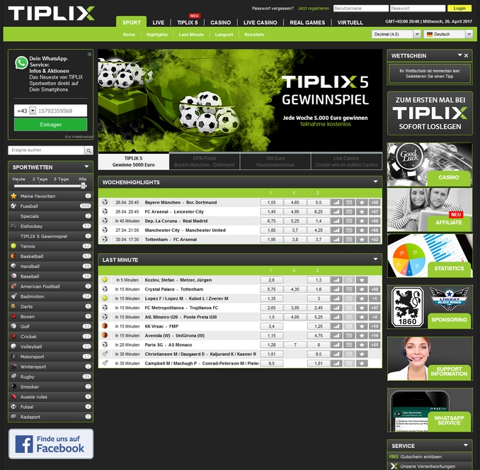 Tiplix Screen