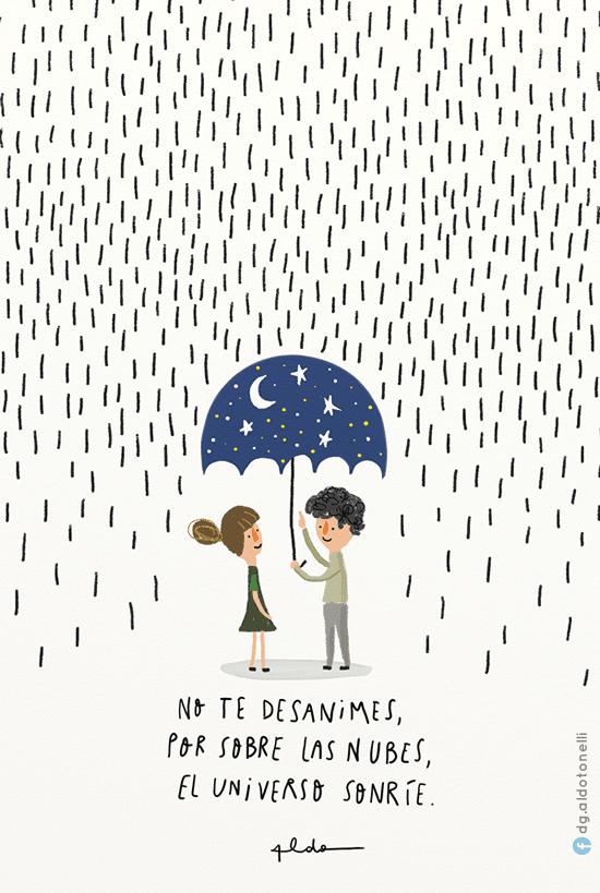 Bajo la lluvia Lluvia