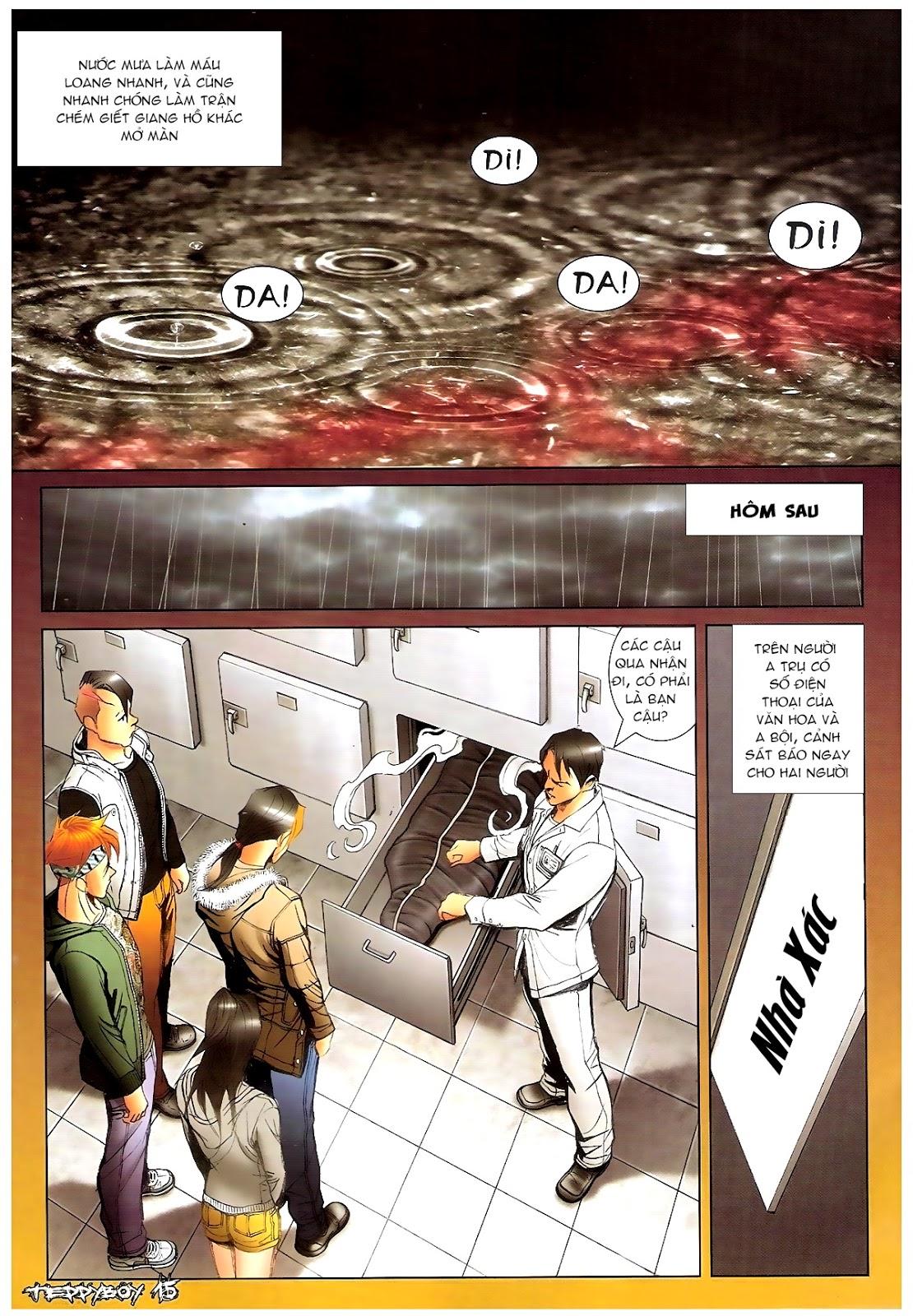 Người Trong Giang Hồ - Chapter 1382: Máu lệ nhạt nhòa - Pic 14