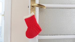 ahuyama crochet bota de navidad