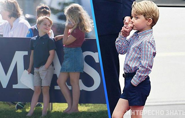 Принцу Джорджу уже 5 лет, и он ведет себя уже совсем как взрослый… иногда, конечно