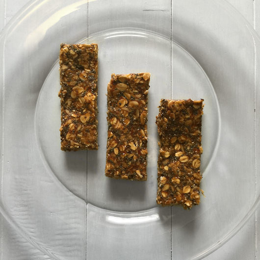 Tastes with Ty - No-Bake Peanut Butter Granola Bars