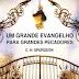 Download: Um Grande Evangelho Para Grandes Pecadores - C. H. Spurgeon