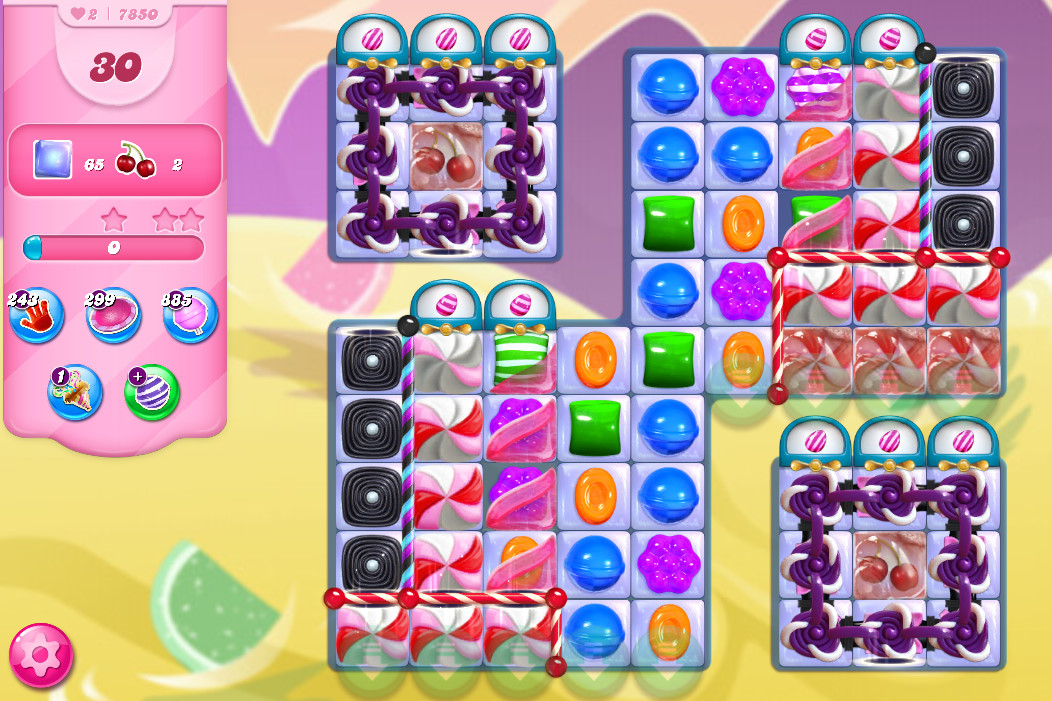 Candy Crush Saga level 7850