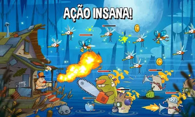 Swamp Attack MOD APK v2.4.0 for Android Hack Terbaru 2018