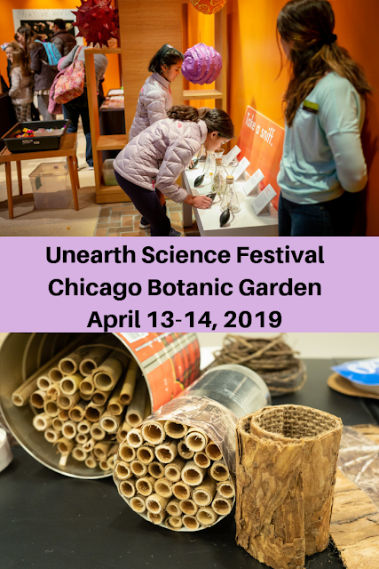 Unearth Science Festival at Chicago Botanic Garden Encourages Science Exploration April 13-14, 2019