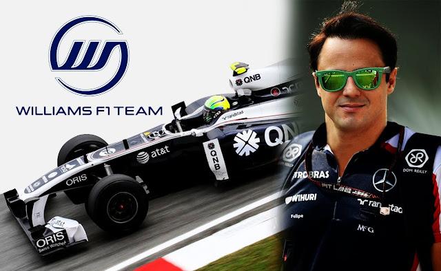"""Felipe Massa é convocado para correr de volta e Williams se """"sente mal"""""""