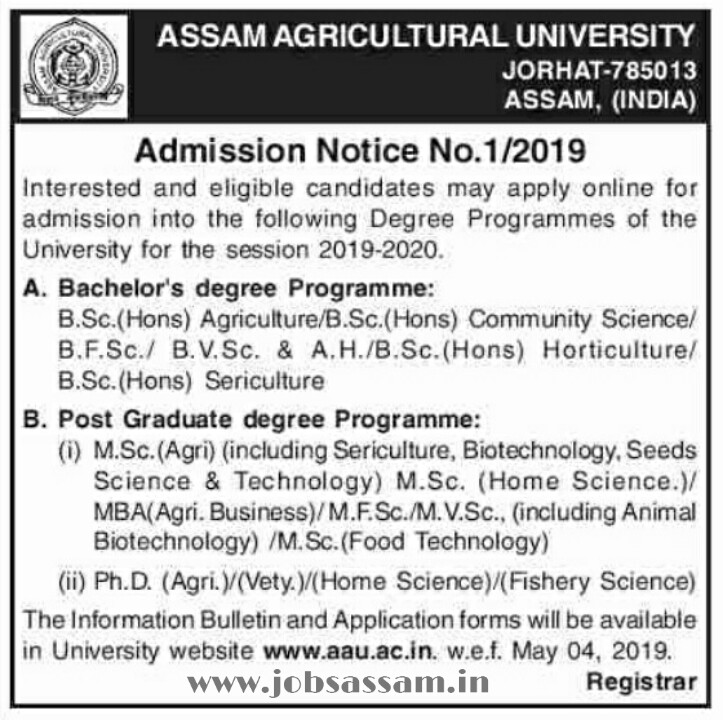 Assam Career-Latest Assam Govt Jobs 2019 Notifications