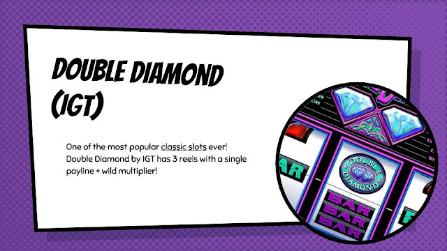 Double Diamond free classic slot by IGT