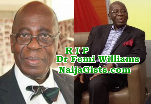 dr femi williams is dead