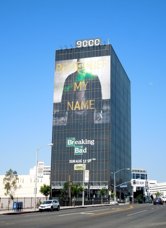 Giant Breaking Bad final episodes billboard