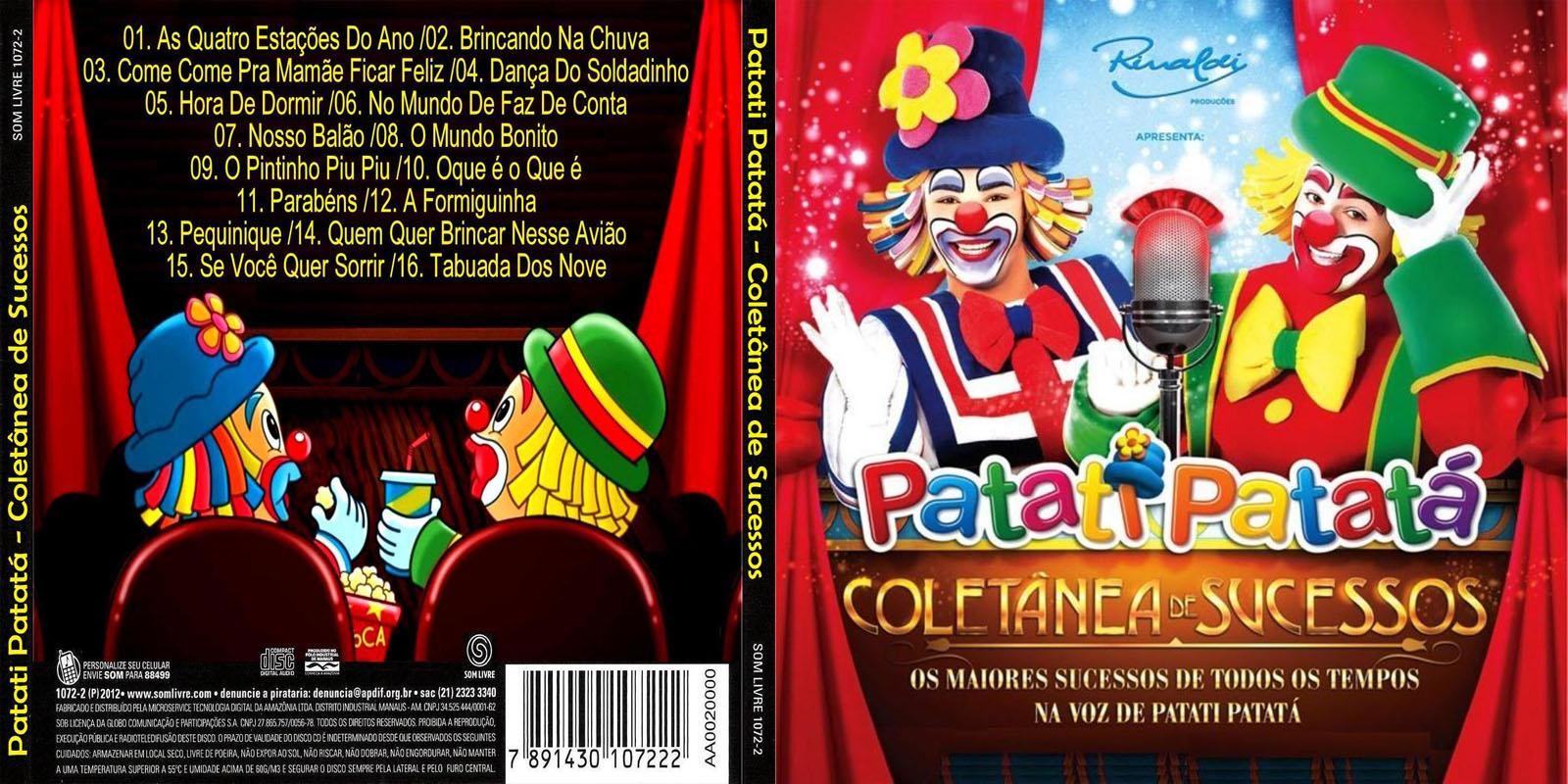 o dvd do patati patata coletanea de sucessos gratis