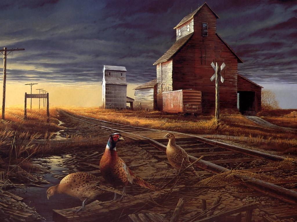 Free Fall Wallpaper Downloads Terry Redlin Art Desktop Wallpapers