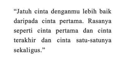 Kata Kata Novel Everything, Everything