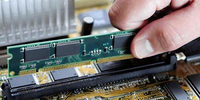 Penempatan ram di komputer
