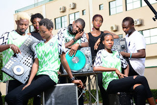 "Onyx Models & KD Superstar DJs Welcomes Back The Nigerian ""Super Eagles"""
