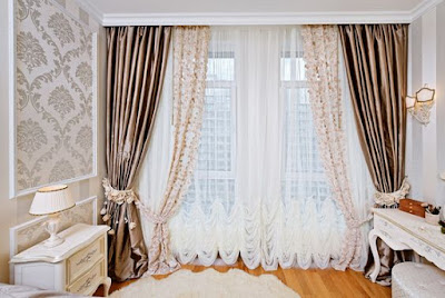modern window curtains design for living room 2019