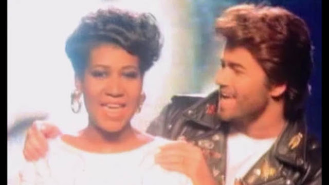Video: George Michael y Aretha Franklin - I Knew You Were Waiting (For Me)