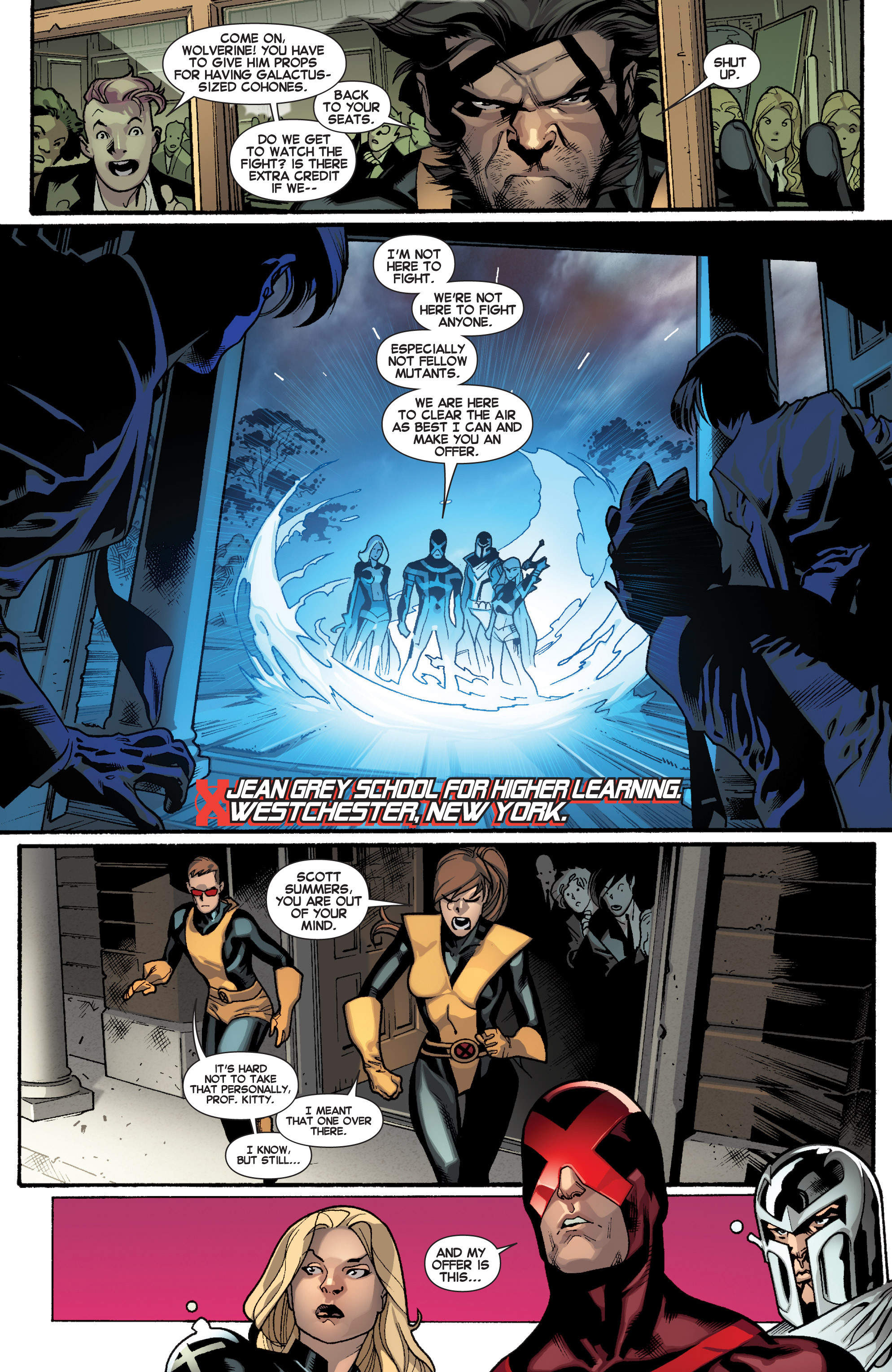Read online All-New X-Men (2013) comic -  Issue # _Special - Here To Stay - 92