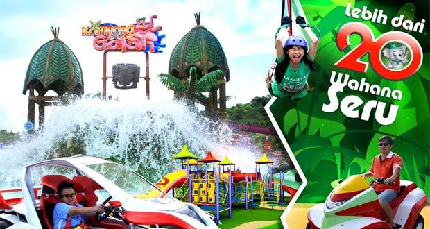 Kampung Gajah Wonderland Bandung (Foto : wahanatourtravel.com)