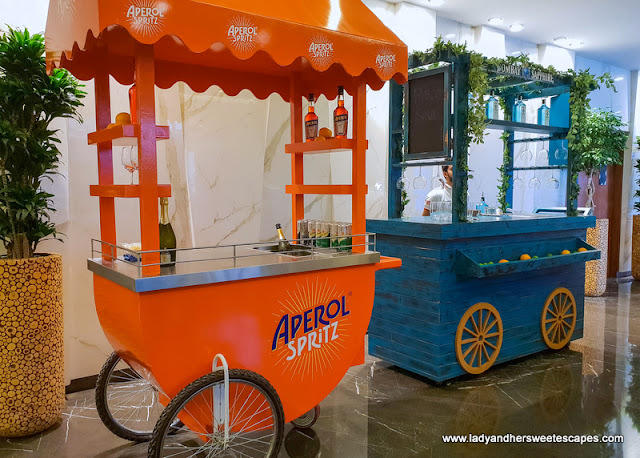 beverage stalls in tailgate brunch dubai