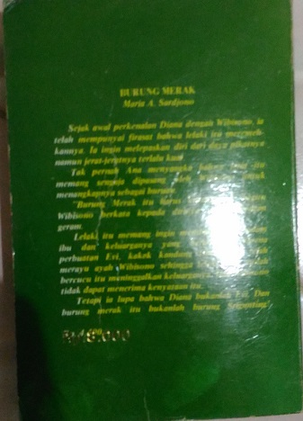 Novel Burung Merak
