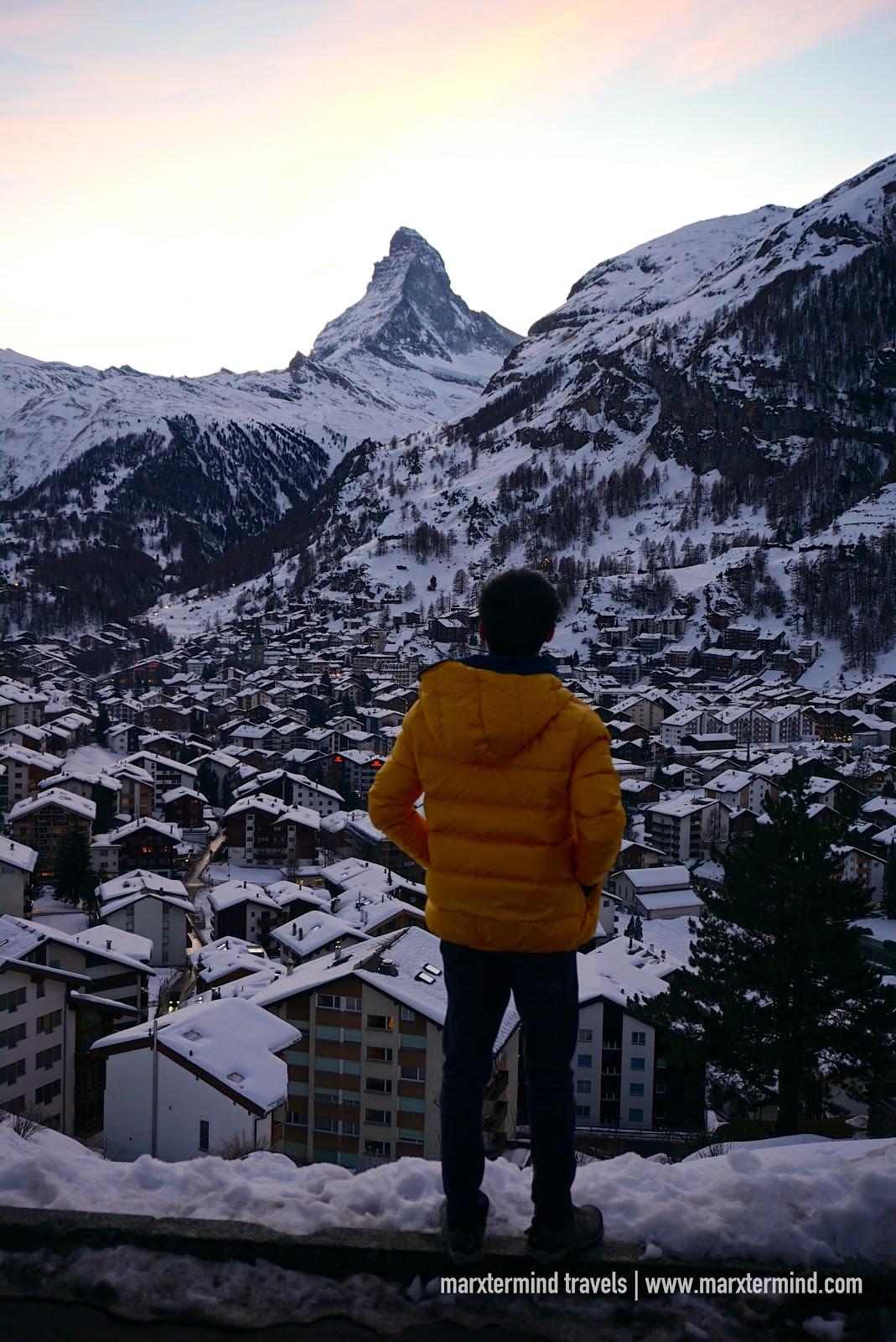 marxtermind in Zermatt, Switzerland