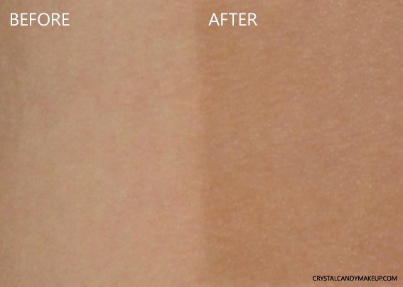 Institut Esthederm Sun Sheen Intense Self Tanning Body Jelly Review Before After